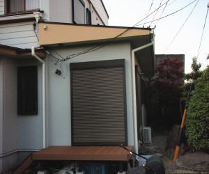 三重県桑名市 シャッター雨戸設置工事後