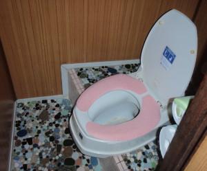 岐阜県海津市 コンパクト便器トイレ工事前