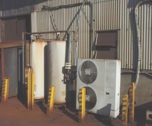 三重県桑名市 給湯器取替工事前 電気温水器